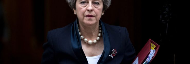 Theresa May plaide pour son plan de Brexit devant une Europe
