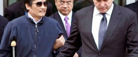 Le dissident chinois Chen Guangcheng à New-York