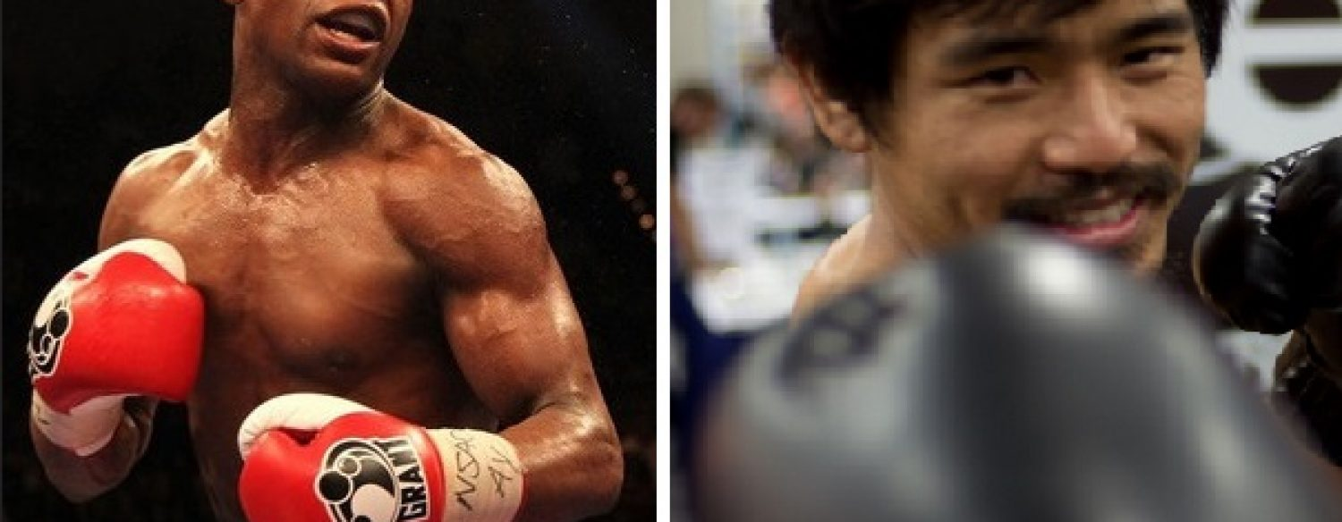 VIDEO. «Combat du siècle»:  Manny Pacquiao remercie Floyd Mayweather